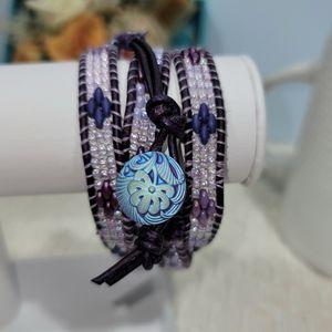 Hand Made Quad Wrap Bracelet